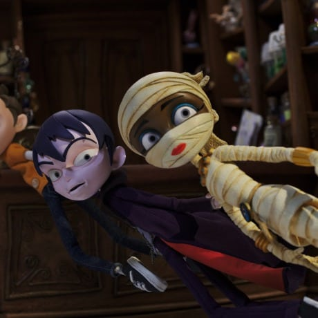It's ghouls and gross-out gags as Scream Street airs on CBBC