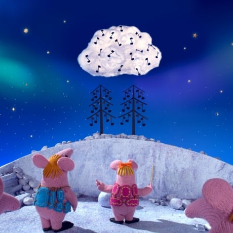 On Stage at Home with Clangers and Nordoff Robbins